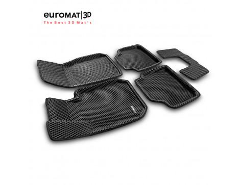 3D коврики Euromat3D EVA в салон для Bmw 3 (F30) (2010-2018) № EM3DEVA-001202